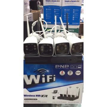 WIFI Wireless Security HD 4 Camera Kit