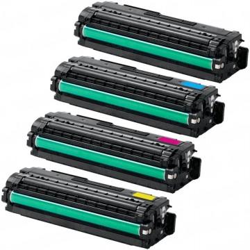 Compatible Samsung Laser Toner Cartridge CLT-506L K C M Y Toner
